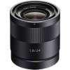 Sony E 24mm  f/1.8 Sonnar T* ZA (SEL-24F18Z)   Garantie 2 ans