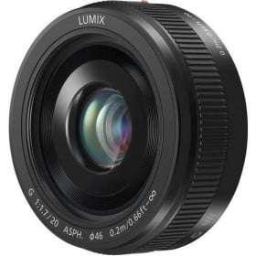 Panasonic Lumix G 20mm f/1.7 Pancake II (Bulk) | Garantie 2 ans