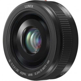 Panasonic Lumix G 20mm f/1.7 Pancake II (Version Bulk - Boîte Blanche) | 2 Years Warranty