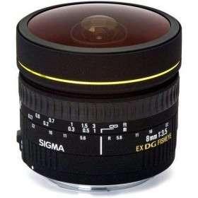 Sigma 8mm f/3.5 EX DG Circular Fisheye | Garantie 2 ans