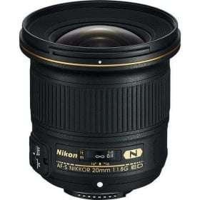 Nikon AF-S Nikkor 20mm f/1.8 G ED | 2 Years Warranty