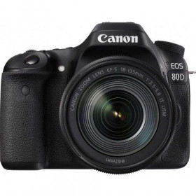 Canon EOS 80D + EF-S 18-135mm IS USM | 2 Years Warranty