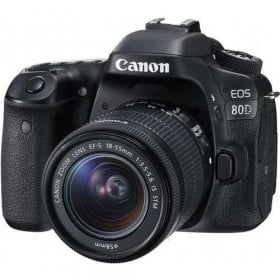 Canon EOS 80D + EF-S 18-55mm IS STM | 2 Years Warranty