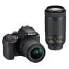 Nikon D5600 + AF-P DX 18-55mm VR + AF-P DX 70–300 mm 1:4,5–6,3 G ED VR | 2 Years Warranty