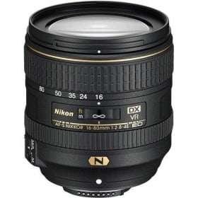 Nikon AF-S DX Nikkor 16-80mm f2.8-4.0 E ED VR
