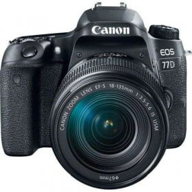 Canon EOS 77D + 18-135mm IS USM   2 Years Warranty