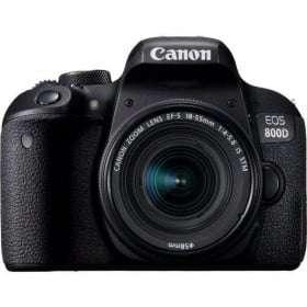 Canon EOS 800D + EF-S 18-55mm f/4-5.6 IS STM | 2 años de garantía