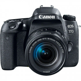 Canon EOS 77D + 18-55mm F4.0-5.6 IS STM   2 Years Warranty