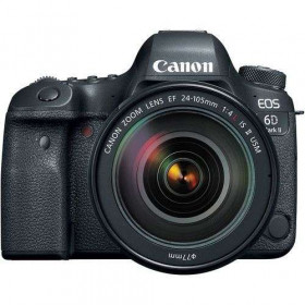 Canon EOS 6D Mark II + EF 24-105mm f/4L IS II USM + SD 64GB | 2 Years Warranty