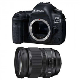 Canon EOS 5D Mark IV + Sigma 24-105mm f/4.0 DG OS HSM ART | 2 Years Warranty