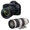 Canon EOS 5D Mark IV + EF 24-105mm f/4L IS II USM + EF 70-200mm f/2.8 L IS II USM | 2 Years Warranty