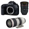 Canon EOS 5D Mark IV + EF 24-70mm f/2.8L II USM + EF 70-200mm f/2.8 L IS II USM | 2 Years Warranty