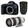 Canon EOS 5D Mark IV + EF 24-70mm f/2.8L II USM + EF 70-200mm f/2.8 L IS II USM | Garantie 2 ans
