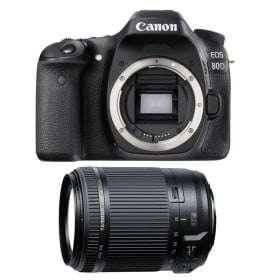 Canon EOS 80D + Tamron 18-200 mm F/3.5-6.3 Di II VC | 2 Years Warranty