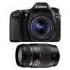 Canon EOS 80D + EF-S 18-55mm f/4-5.6 IS STM + Tamron AF 70-300 mm f/4-5,6 Di LD Macro
