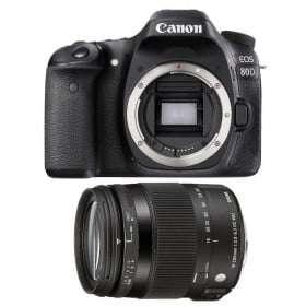 Canon EOS 80D + Sigma 18-200 mm f/3,5-6,3 DC OS HSM MACRO Contemporary