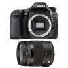 Canon EOS 80D + Sigma 18-200 mm f/3,5-6,3 DC OS HSM MACRO Contemporary | Garantie 2 ans
