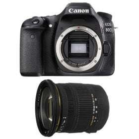 Canon EOS 80D + Sigma 17-50 F2.8 DC OS EX HSM | 2 Years Warranty