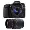 Canon EOS 80D + EF-S 18-55mm f/4-5.6 IS STM + Sigma 70-300 f/4-5,6 APO DG MACRO | Garantie 2 ans