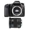 Canon EOS 80D + Sigma 17-70 mm f/2,8-4 DC Macro OS HSM Contemporary | Garantie 2 ans