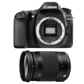 Canon EOS 80D + Sigma 18-300 mm f/3,5-6,3 DC OS HSM Contemporary Macro