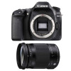 Canon EOS 80D + Sigma 18-300 mm f/3,5-6,3 DC OS HSM Contemporary Macro | Garantie 2 ans