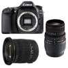 Canon EOS 80D + Sigma 17-50 DC OS EX HSM + Sigma 70-300 f/4-5,6 APO DG MACRO | 2 Years Warranty
