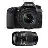 Canon EOS 80D + EF-S 18-135 mm f/3.5-5.6 IS USM + Tamron 70-300 mm f/4-5,6 Di LD Macro | Garantie 2 ans