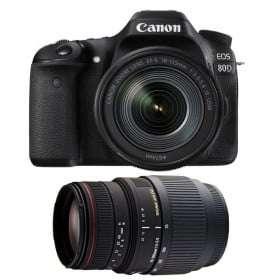 Canon EOS 80D + EF-S 18-135 mm f/3.5-5.6 IS USM + Sigma 70-300 f/4-5,6 APO DG MACRO