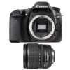 Canon EOS 80D + EF-S 15-85 mm f/3.5-5.6 IS USM | Garantie 2 ans