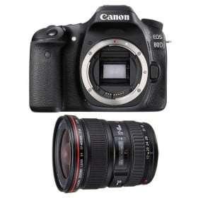 Canon EOS 80D + EF 17-40 mm f/4 L USM L