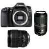 Canon EOS 80D + EF-S 15-85 mm f/3.5-5.6 IS USM + Tamron SP AF 70-300 mm f/4-5.6 Di VC USD
