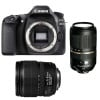 Canon EOS 80D + EF-S 15-85 mm f/3.5-5.6 IS USM + Tamron SP AF 70-300 mm f/4-5.6 Di VC USD | Garantie 2 ans