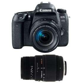 Canon EOS 77D + EF-S 18-55mm f/4-5.6 IS STM + Sigma 70-300 mm f/4-5,6 DG Macro
