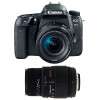 Canon EOS 77D + EF-S 18-55mm f/4-5.6 IS STM + Sigma 70-300 mm f/4-5,6 DG Macro | 2 Years Warranty
