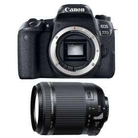 Canon EOS 77D + Tamron 18-200mm F/3.5-6.3 Di II VC   2 Years Warranty