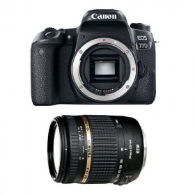Canon EOS 77D + Tamron AF 18-270 mm f/3.5-6.3 Di II VC PZD   2 Years Warranty