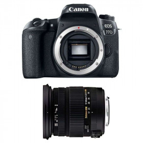 Canon EOS 77D + Sigma 17-50 mm f/2,8 DC OS EX HSM   2 Years Warranty