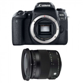 Canon EOS 77D + Sigma 17-70 F2.8-4 DC Macro OS HSM Contemporary   2 Years Warranty