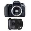 Canon EOS 77D + Sigma 17-70 F2.8-4 DC Macro OS HSM Contemporary   Garantie 2 ans