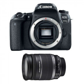 Canon EOS 77D + EF-S 18-200 mm f/3,5-5,6 IS   2 Years Warranty