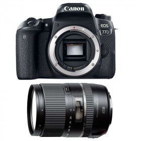 Canon EOS 77D + Tamron 16-300 mm f/3.5-6.3 Di II VC PZD MACRO   2 Years Warranty