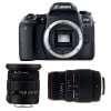 Canon EOS 77D + Sigma 17-50 mm f/2,8 DC OS EX HSM + Sigma 70-300 mm f/4-5,6 DG APO Macro | Garantie 2 ans