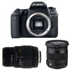 Canon EOS 77D + Sigma 17-70 mm f/2,8-4 DC Macro OS HSM Cont. + Sigma 70-300 mm f/4-5,6 DG Macro
