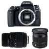 Canon EOS 77D + Sigma 17-70 mm f/2,8-4 DC Macro OS HSM Contemporary + Sigma 70-300 mm f/4-5,6 DG Macro | Garantie 2 ans