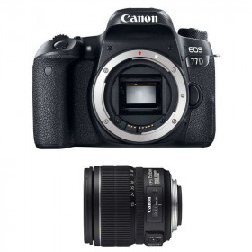 Canon EOS 77D + EF-S 15-85 mm f/3.5-5.6 IS USM   2 Years Warranty