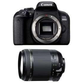 Canon EOS 800D + Tamron 18-200 mm F/3.5-6.3 Di II VC   2 Years Warranty