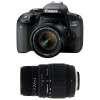 Canon EOS 800D + EF-S 18-55 f/4-5.6 IS STM + Sigma 70-300 mm f/4-5,6 DG Macro | 2 Years Warranty