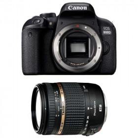 Canon EOS 800D + Tamron AF 18-270 mm f/3.5-6.3 Di II VC PZD   2 Years Warranty