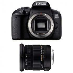 Canon EOS 800D + Sigma 17-50 mm f/2,8 DC OS EX HSM   2 Years Warranty